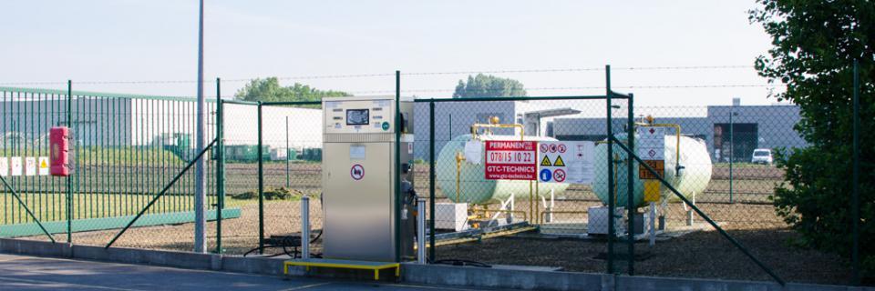 LPG tankstation